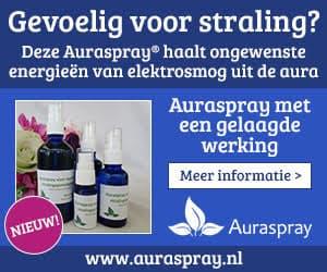 Auraspray voor stralingsgevoeligheid
