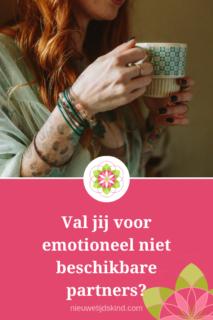 Val jij voor emotioneel niet beschikbare partners?
