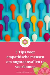 3 Tips voor empathische mensen om angstaanvallen te voorkomen.