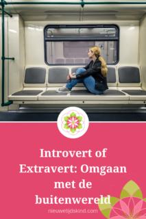 Introvert of Extravert: Omgaan met de buitenwereld