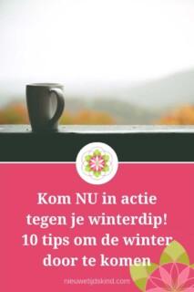 Kom NU in actie tegen je winterdip