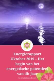Energierapport Oktober 2019 – Het begin van het energetische potentieel van dit jaar