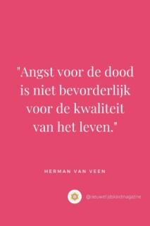 Angst voor de dood Herman van Veen