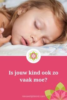 Is jouw kind ook zo vaak moe