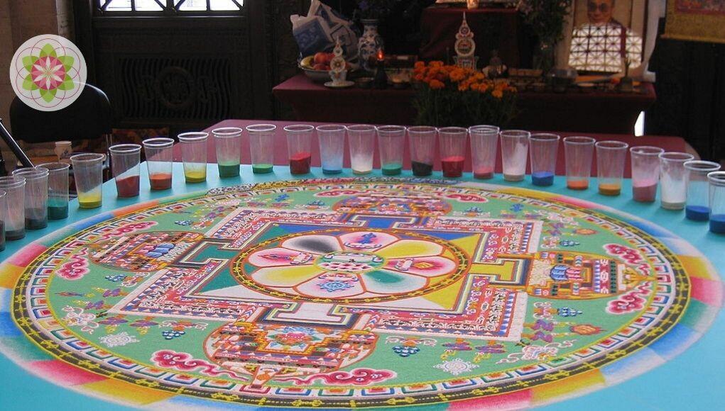 Waarom spoelen Tibetaanse Monniken hun mandala's weer weg