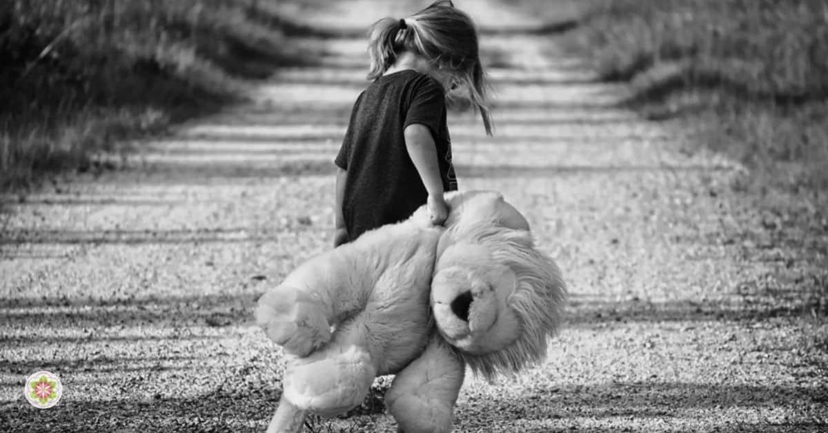kinderen bang en somber