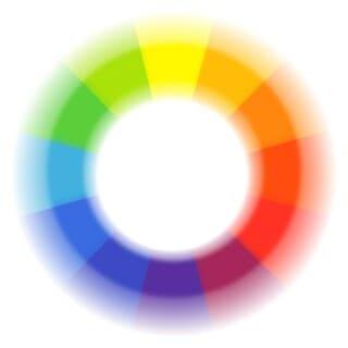 kleurcirkel kleurfrequentie kleur
