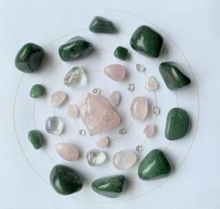 hartkristalgrid voorbeeld