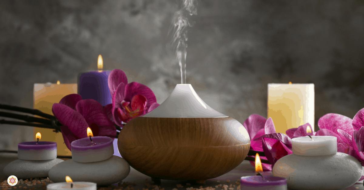 aromatherapie- essentiële oliën